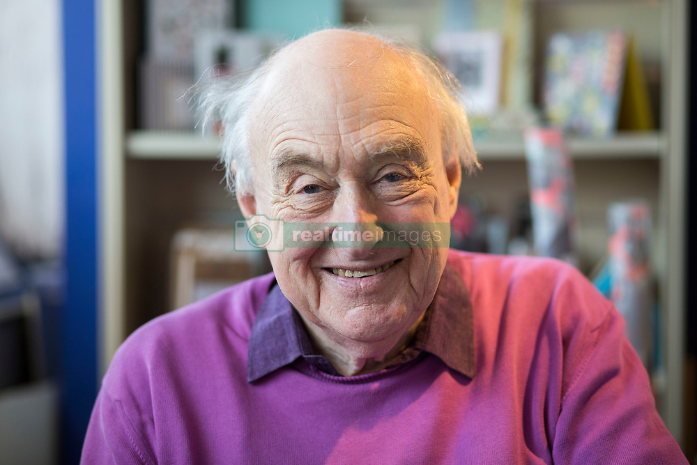April 26, 2018 - Hungerford, Berkshire, United Kingdom - Book Signing. Henry Blofeld,sports journalist, broadcaster best known as a cricket commentator for Test Match Special,poses for graphs during signing copies of his book Over and Out at the Hungerford Book Shop: (Credit Image: © i-Images via ZUMA Press)