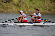 Crew: 41 - Bubb-Humfryes / Budenberg - Tideway Scullers School - Op 2- Club <br /> <br /> Pairs Head 2020