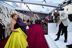 Tonya Lewis Lee and Spike Lee, Oscar® nominee, arrive on the red carpet of The 91st Oscars® at the Dolby® Theatre in Hollywood, CA on Sunday, February 24, 2019. arrive on the red carpet of The 91st Oscars® at the Dolby® Theatre in Hollywood, CA on Sunday, February 24, 2019.