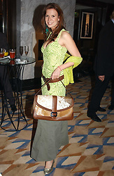 MISS HENRIETTA DUPS at a party to celebrate the re-launch of the Polo bar at The Westbury Hotel, Bond Street, London W1 on 26th April 2005.<br /><br />NON EXCLUSIVE - WORLD RIGHTS