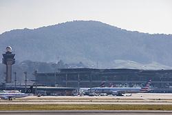 July 20, 2017 - Sao Paulo, Sao Paulo, Brazil - Jul 20, 2017 - Sao Paulo, Sao Paulo, Brazil - Movement of landings and departures at Guarulhos International Airport (GRU), in the city of Guarulhos, this Thursday. (Credit Image: © Marcelo Chello/CJPress via ZUMA Wire)