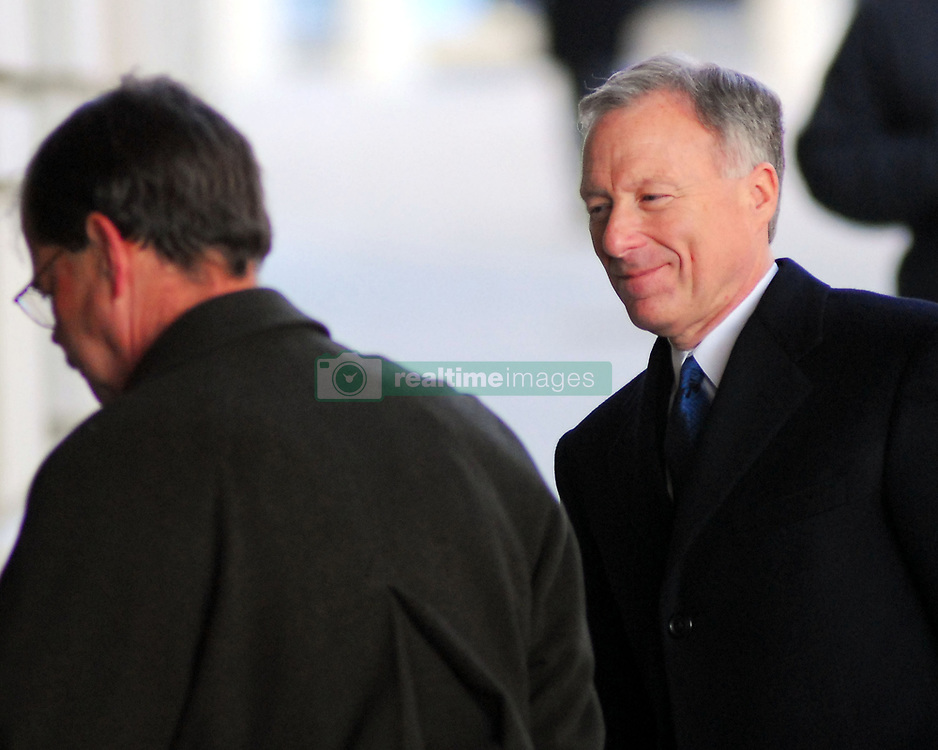 Jul 03, 2007 - Washington, DC, USA - Just hours after a panel of judges rejected Lewis 'Scooter' Libby's plea to remain free while appealing his conviction on perjury and obstruction of justice in the CIA leak case, President Bush saved Libby from serving any jail time by commuting his sentence. PICTURED: Jan. 24, 2007 - LEWIS LIBBY, Vice President Dick Cheney's former chief of staff, arrive at U.S. District Court in Washington, D.C. for his trial on charges of perjury.  (Credit Image: © Bill Putnam/ZUMA Press)