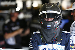 November 3, 2018 - Ft. Worth, Texas, United States of America - Ryan Blaney (12) hangs out in the garage during practice for the AAA Texas 500 at Texas Motor Speedway in Ft. Worth, Texas. (Credit Image: © Justin R. Noe Asp Inc/ASP via ZUMA Wire)