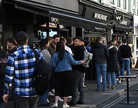 People out and about in londons Soho  lockdown restrictions start to ease photo by Krisztian Kobold Elek