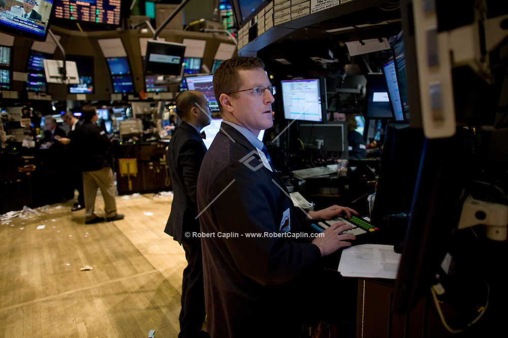 The New York Stock Exchange. Photo by Robert Caplin