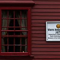 White Horse Tavern in Newport, Rhode Island.