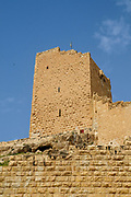 The Women's Tower overlooking Saint Sabbas, known in Syriac as Mar Saba [Marsaba] is a Greek Orthodox monastery overlooking the Kidron Valley at a point halfway between the Old City of Jerusalem and the Dead Sea, within the Bethlehem Governorate of the West Bank. The monks of Mar Saba and those of subsidiary houses are known as Sabaites.