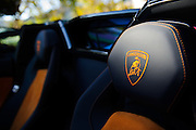 August 14-16, 2012 - Lamborghinis at Pebble Beach: Lamborghini Aventador interior