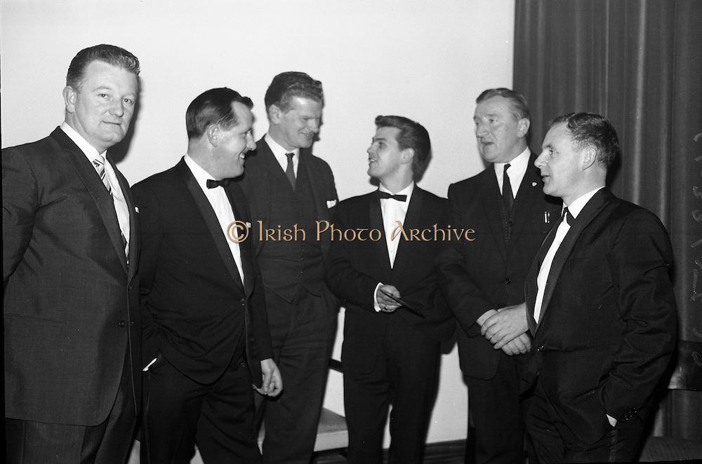 The Regal Showband, Cork, with their first recording 'Love Me', released under the King label. .09.11.1964