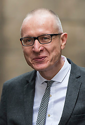 © London News Pictures. 05/03/2016. London, UK. ROBERT THOMSON attends a ceremony to mark the wedding of Rupert Murdoch and Jerry Hall held at St Brides Church on Fleet Street,  central London on February 05, 2016. . Photo credit: Ben Cawthra /LNP