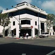 Reis Amerika, Chanel winkel aan Rodeo Drive Los Angeles
