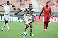 FOOTBALL - TOUNOI DE PARIS 2010 - AS ROMA v GIRONDINS DE BORDEAUX - 31/07/2010 - PHOTO GUY JEFFROY / DPPI - DAVID BELLION (BOR)
