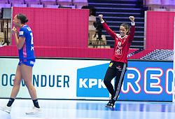 EHF Euro 2020 Group A match between France and Slovenia in Jyske Bank Boxen, Herning, Denmark on December 6, 2020. Photo Credit: Lars Jørgensen/EVENTMEDIA.