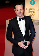 Feb 8, 2015 - EE British Academy Film Awards 2015 - Red Carpet Arrivals at Royal Opera House<br /> <br /> Pictured: Andrew Scott<br /> ©Exclusivepix Media