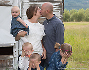 On Location Family Portrait Photography Steamboat Springs Colorado