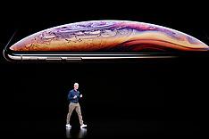 Apple Unveils New iPhones - Cupertino - 12 Sep 2018