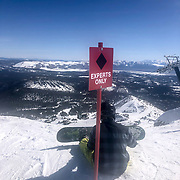 One of Mammoth Mountain's biggest years in terms of snowfall made for winter conditions amid the spring like weather.