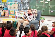 PHOENIX, AZ - MAY 9: Paul Goldschmidt surprises a second grade classroom at Edison Elementary School at part of National Teacher Appreciation Day. (Photo by Sarah Sachs/Arizona Diamondbacks/Getty Images)