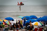 Atlantic City, NJ. Eurocopter HH-65 Dolphin<br /> Photograph by Alan Brian Nilsen ©Alan Brian Nilsen