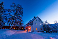 An old farmhouse near Trysil, Norway.