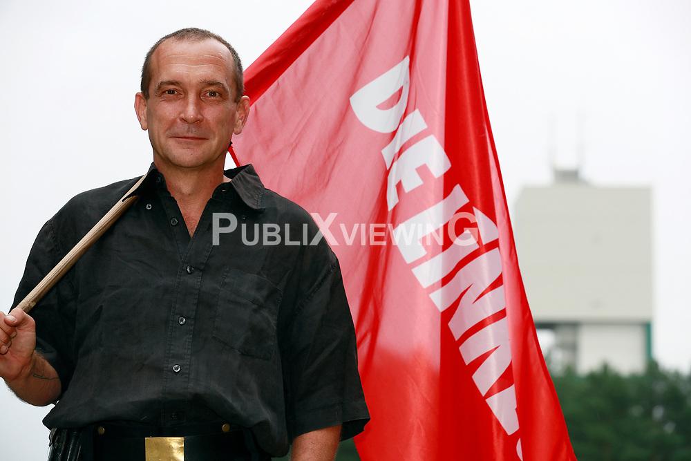 Matthias Widenlübbert, Die Linke<br /> <br /> Ort: Gorleben<br /> Copyright: Andreas Conradt<br /> Quelle: PubliXviewinG