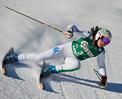 28-12-2011 SKIEN: FIS WORLD CUP: LIENZ<br /> Federica Brignone ITA // during Giant Slalom first Run at FIS Ski Worldcup at Worldcupcourse Hochstein in Lienz<br /> **NETHERLANDS ONLY** <br /> ©2011-FotoHoogendoorn.nl/EXPA/M. Gruber