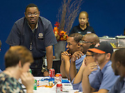 Construction and Facilities Services luncheon at Barnett Fieldhouse, November 18, 2016.
