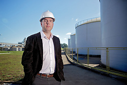 O gerente da Unidade da Granol, em Cachoeira do Sul, Tales Treichel, na sede da empresa. FOTO: Jefferson Bernardes/Preview.com