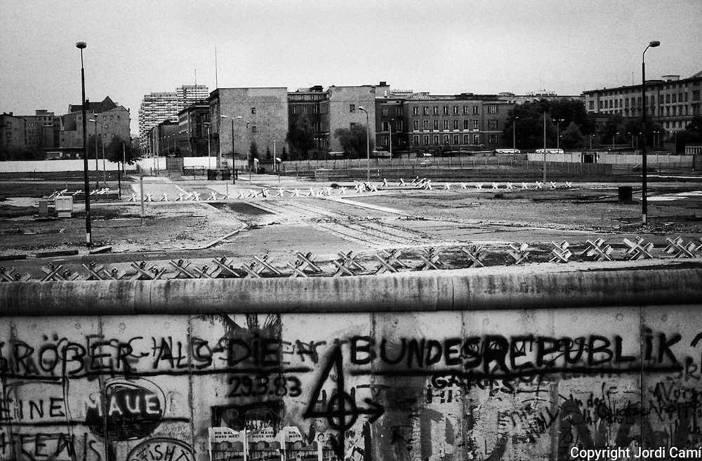 Berlin Wall, 1983. Berlin, Germany.<br />