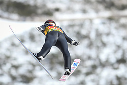 March 22, 2019 - Planica, Slovenia - Ryoyu Kobayashi of Japan seen in action during the trial round of the FIS Ski Jumping World Cup Flying Hill Individual competition in Planica. (Credit Image: © Milos Vujinovic/SOPA Images via ZUMA Wire)