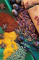France - Département d'Outre mer de la Guadeloupe (DOM) - Épices des Antilles - Spices from Caraïbe