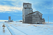 Grain elevators<br /> Horizon<br /> Saskatchewan<br /> Canada