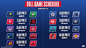 February 26, 2021 (USA): NBA Basketball On ESPN