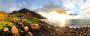 Kalalau, Beach, Napali Coast, Kauai, Hawaii