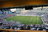 July 18 2009: A view of the field from the press box before the game between USA and Panama. The United States defeated Panama 2-1 in added extra time in a CONCACAF Gold Cup quarter-final match at Lincoln Financial Field in Philadelphia, Pennsylvania.