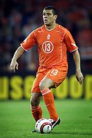 Fotball<br /> VM-kvalifisering<br /> Nederland v Armenia<br /> 30. mars 2005<br /> Foto: Digitalsport<br /> NORWAY ONLY<br /> wilfred bouma