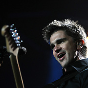 Juanes performs at the Amway Arena in Orlando, Florida on April 13, 2008.