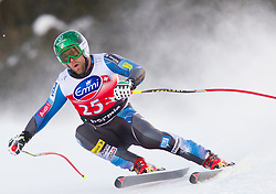 29.12.2012, Stelvio, Bormio, ITA, FIS Weltcup, Ski Alpin, Abfahrt, Herren, im Bild Travis Ganong (USA) // Travis Ganong of the USA in action during the mens Downhill race of the FIS Ski Alpine Worldcup at the Stelvio course, Bormio, Italy on 2012/12/29. EXPA Pictures © 2012, PhotoCredit: EXPA/ Johann Groder