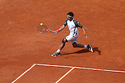 Roland Garros. Paris, France. June 2nd 2012.Serbian player Janko TIPSAREVIC against Julien BENNETEAU.