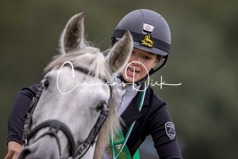 Vossen Minne, BEL, Injas<br /> Nationaal Kampioenschap LRV Ponies <br /> Lummen 2020<br /> © Hippo Foto - Dirk Caremans<br /> 27/09/2020