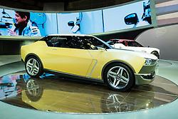 Nissan IDx Freeflow concept car at Tokyo Motor Show 2013 in Japan