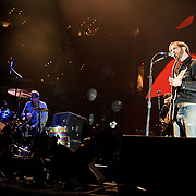 WASHINGTON, DC - March 9th, 2012 -  The Black Keys performs during a sold out show at the Verizon Center in Washington, D.C.  The duo's seventh studio album, El Camino, was released last December and debuted at number 2 of the Billboard 200. (Photo by Kyle Gustafson/For The Washington Post)
