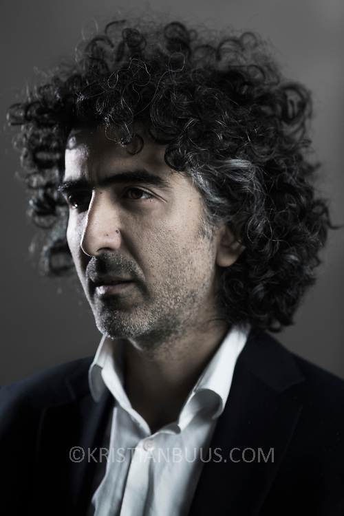 Ali Alizadeh, Iranian political commentator and analyst. Photographed in London 2017.