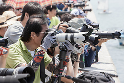 Crowds during the semi finals at Korea Match Cup 2013. Gyeonggi Province, Korea. 2 June 2013 Photo: Subzero Images/AWMRT