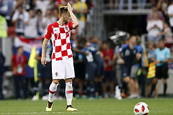 Ivan Rakitic of Croatia during the 2018 FIFA World Cup Russia Final match between France and Croatia at the Luzhniki Stadium on July 15, 2018 in Moscow, Russia