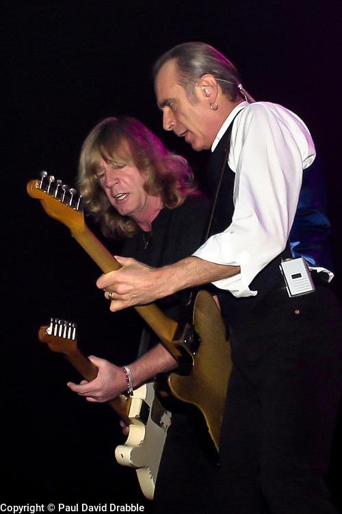 Status Quo Play Sheffield City Hall Riffs tour<br /> 2 November 2003 .<br /> <br /> image copyright Paul David Drabble