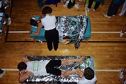 Post-Race Massage For 1992 Boston Marathon