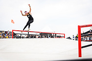 Leticia Bufoni during Women's Skate Street Finals at 2019 X Games Shanghai in Shanghai, China. ©Brett Wilhelm/ESPN