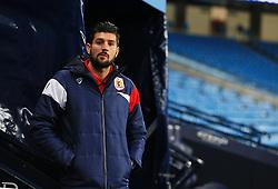 Eros Pisano of Bristol City - Mandatory by-line: Matt McNulty/JMP - 09/01/2018 - FOOTBALL - Etihad Stadium - Manchester, England - Manchester City v Bristol City - Carabao Cup Semi-Final First Leg