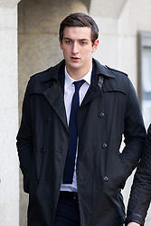 © Licensed to London News Pictures. 07/02/2013. London, UK. Brighton and Hove Albion football player Lewis Dunk, 21, is seen arriving at the Old Bailey in London today (07/02/13) where he and four other players are facing charges of sexual assault. Photo credit: Matt Cetti-Roberts/LNP